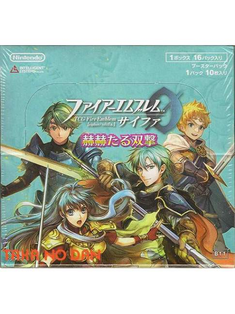 1 Caja Sellada Fire Emblem Cipher Glorious Twinstrike B11 (16 Sobres)
