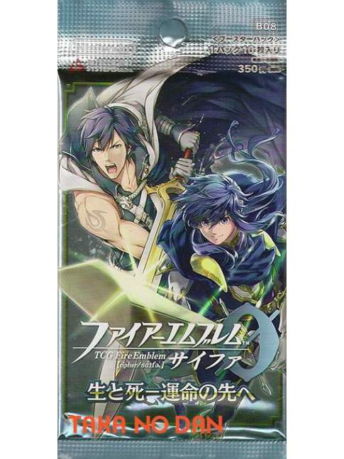 1 Sobre Fire Emblem Cipher Sei to Shi Unmei no Saki e B08 (10 Cartas)