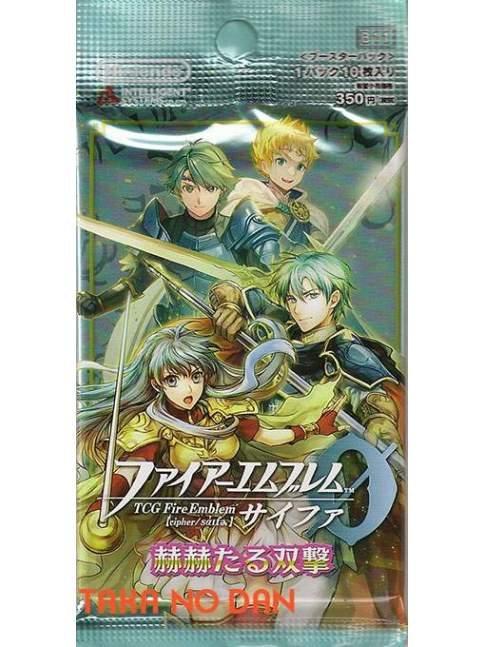 1 Sobre Fire Emblem Cipher Glorious Twinstrike B11 (10 Cartas)