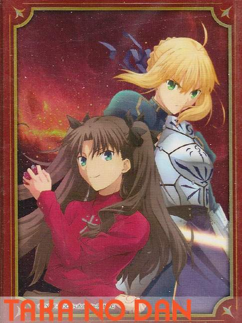80 Protectores Estandar Saber / Rin Tohsaka - Fate Stay Night UBW