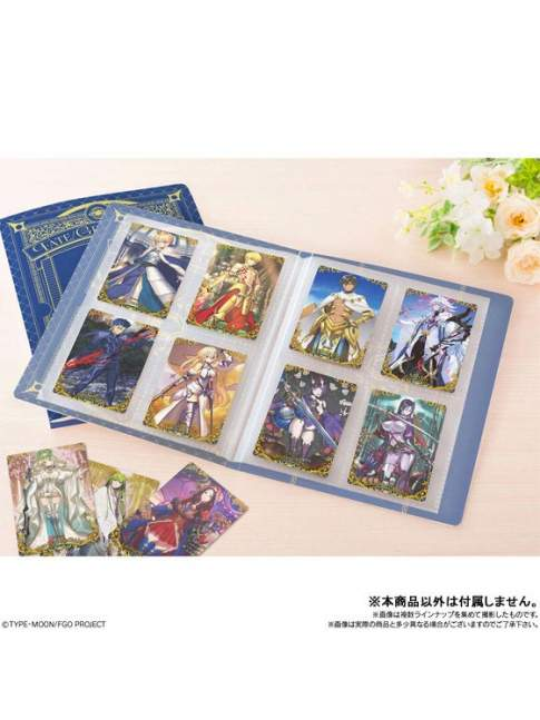 Carpeta para Tarjetas Wafer Fate Grand Order + 1 Tarjeta Exclusiva