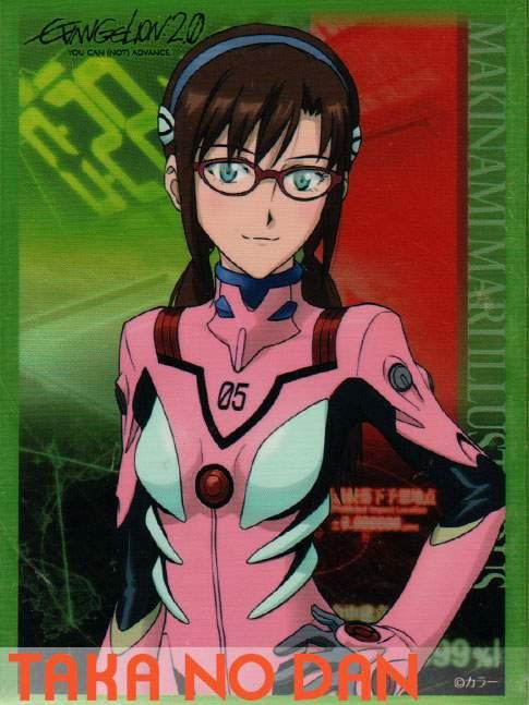 60 Protectores Estandar Mari Illustrious Makinami - Evangelion 2.0: You Can (Not) Advance