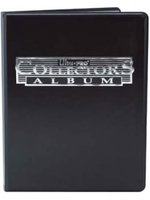 Carpeta para Cartas UltraPro 4-Pocket Collectors Album Black