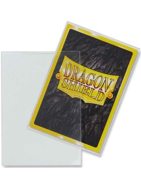 60 Protectores Mini Mate Transparente Dragon Shield