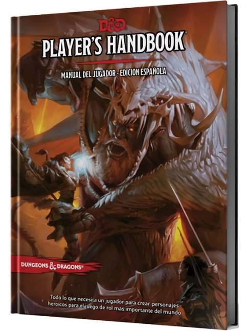 Dungeons & Dragons: Manual del Jugador 5ta Edición