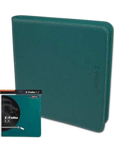Carpeta para Cartas BCW Z-Folio 12-Pocket LX Album Calipso