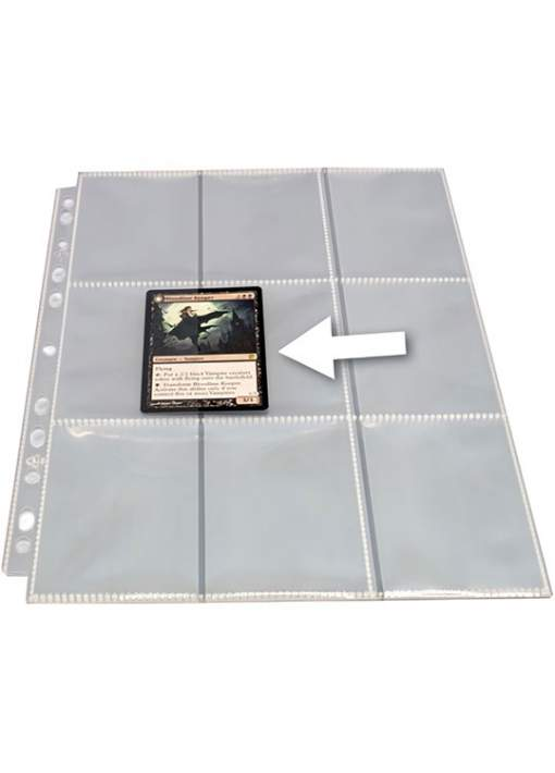 1 Hoja Transparente para Archivador de Cartas GameGenic