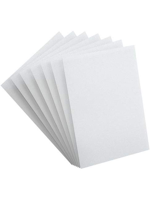 100 Protectores Estandar GameGenic PRIME Sleeves White 66x91 MM