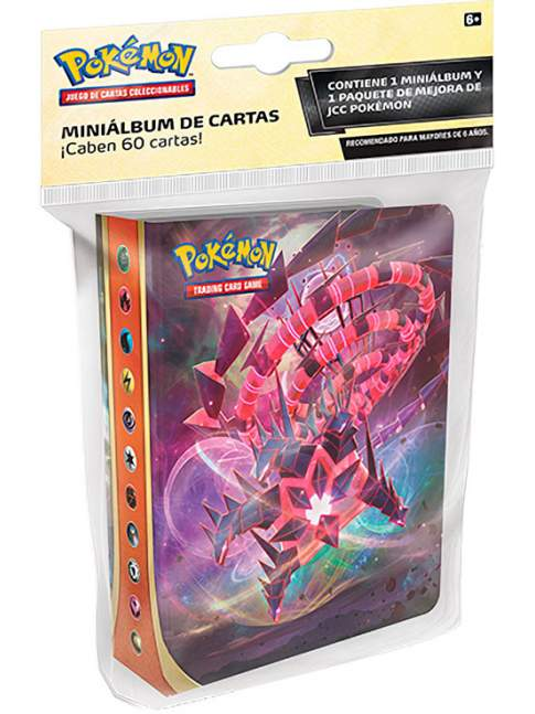 1 Mini Carpeta + 1 Sobre Sellado Pokemon Espada y Escudo Oscuridad Incandescente