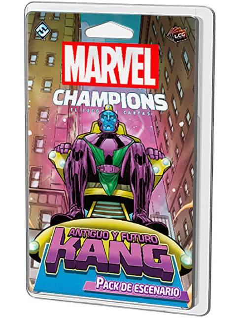 Marvel Champions: El Juego de Cartas - Antiguo y Futuro Kang / Pack de Escenario
