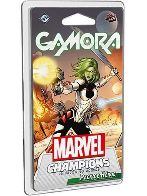 Marvel Champions: El Juego de Cartas - Gamora / Pack de Héroe