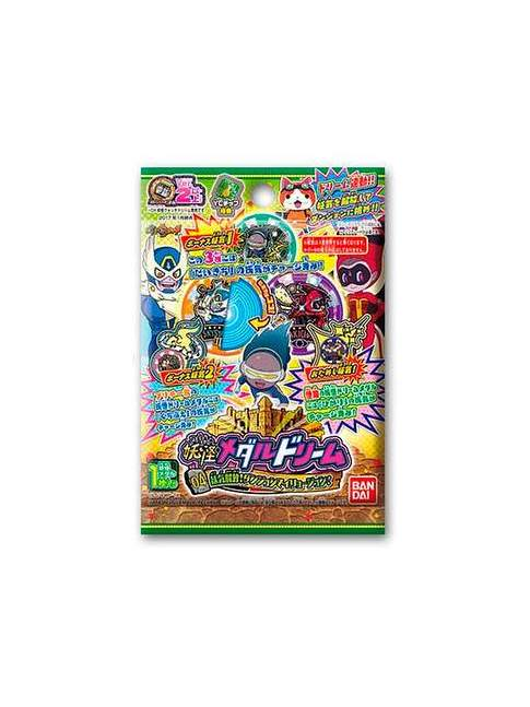 1 Sobre 1 Medalla Yokai Watch Medal Dream 04
